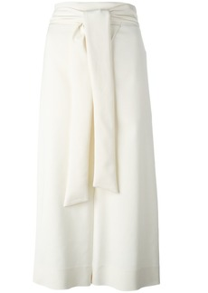 Tibi tie fastening culottes - Nude & Neutrals