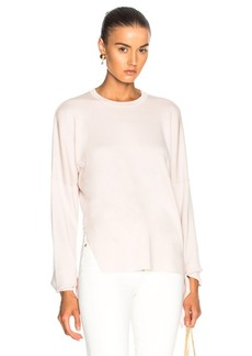 Tibi Tie Sleeve Sweater