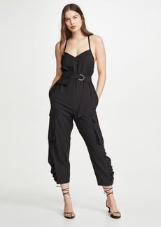Tibi Tropical Wool Jumpsuit