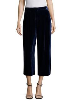Tibi Velvet Culotte Pants
