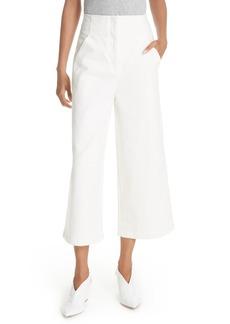 Tibi Wide Leg Crop Jeans