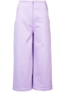 Tibi wide leg cropped trousers - Unavailable