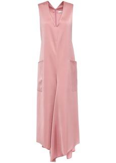 Tibi Woman Satin-twill Midi Dress Blush