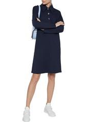 Tibi Woman Bond Stretch-knit Shirt Dress Navy