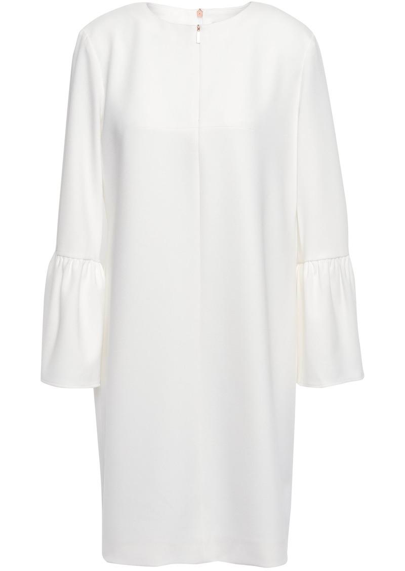 Tibi Woman Crepe Mini Dress White