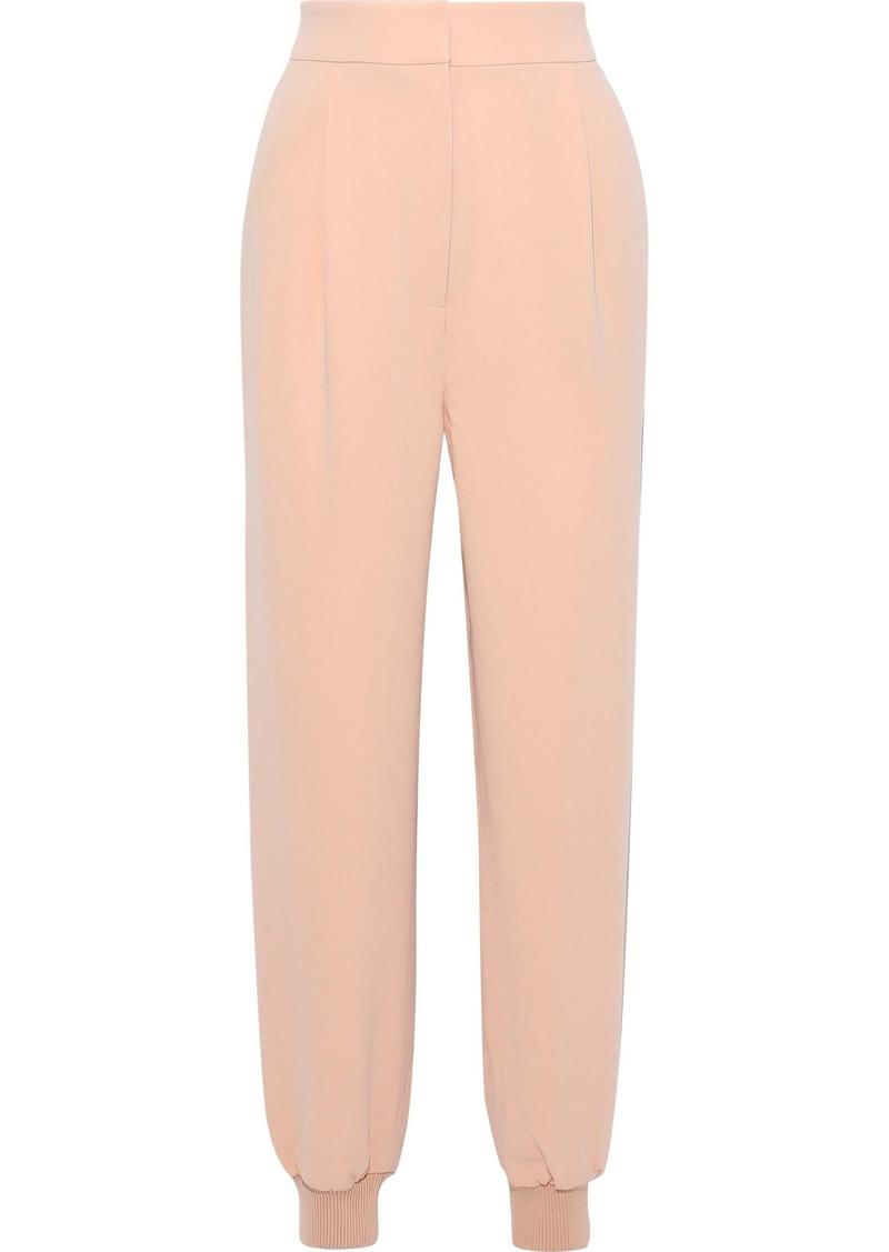 Tibi Woman Crepe Tapered Pants Blush