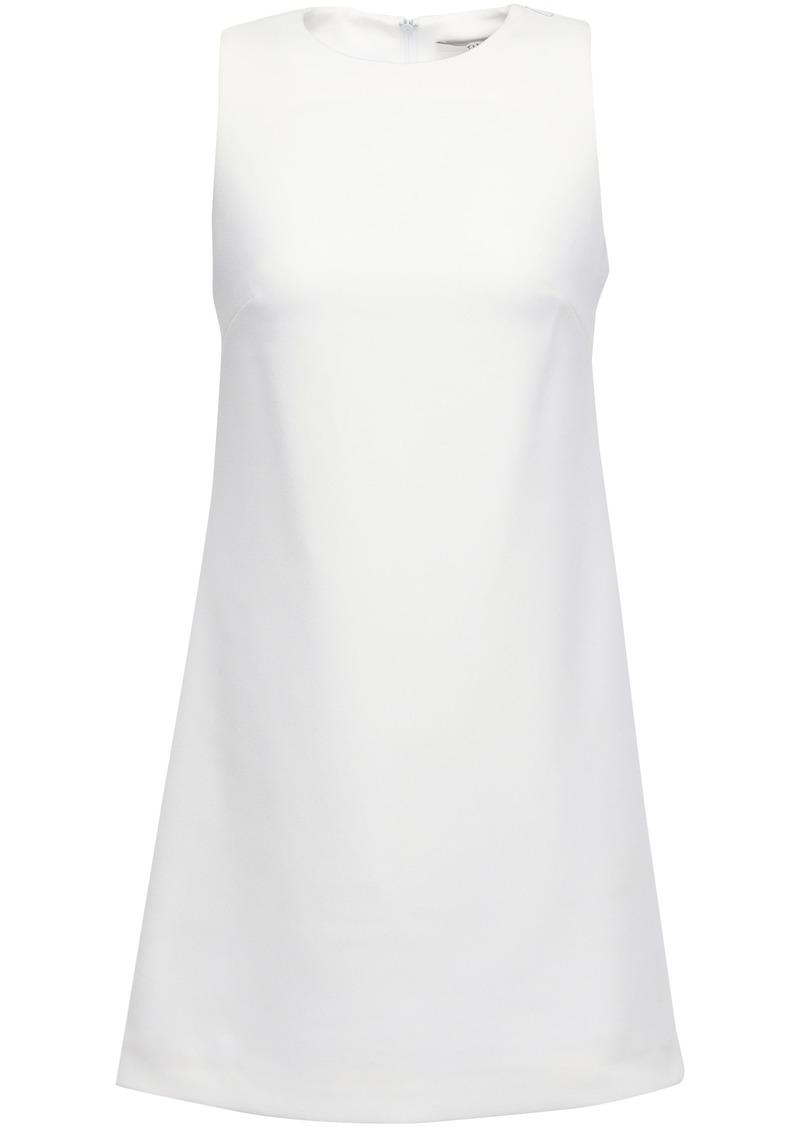 Tibi Woman Cutout Stretch-crepe Mini Dress White