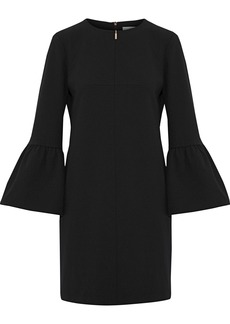 Tibi Woman Crepe Mini Dress Black