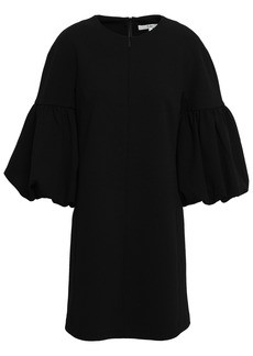 Tibi Woman Stretch-crepe Mini Dress Black