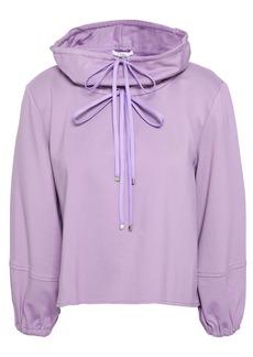 Tibi Woman Stretch-jersey Sweatshirt Lavender