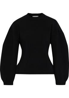Tibi Woman Wool-blend Sweater Black
