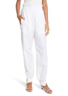 Tibi Woven Jogger Pants