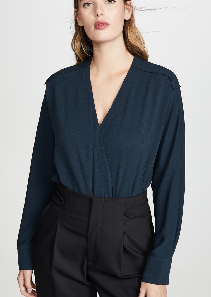 Tibi Wrap Bodysuit