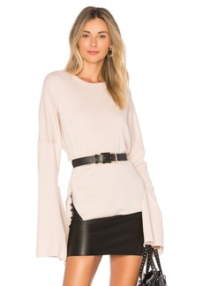 Tibi Tie Sleeve Sweater