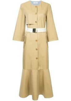 Tibi trench dress