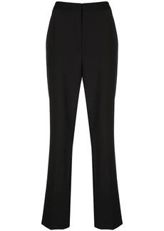 Tibi Tropical mid-rise trousers