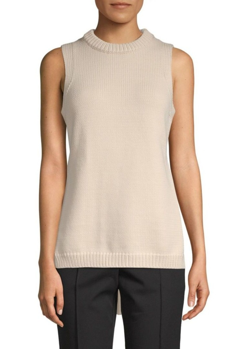 Tibi Tube Yarn Open-Back Top