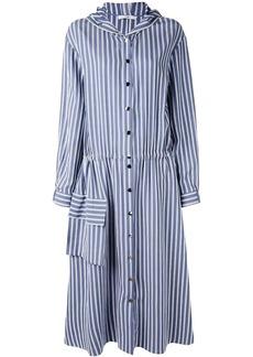 Tibi twill maxi dress