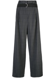 Tibi windowpane Stella trousers