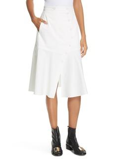 Women's Tibi Dominic Flare Twill Skirt