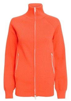 Tibi Zip-Up Track Cardigan