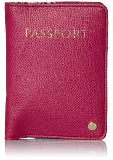 Tignanello Travel Bundle Pass Case METALLIC RASPBERRY