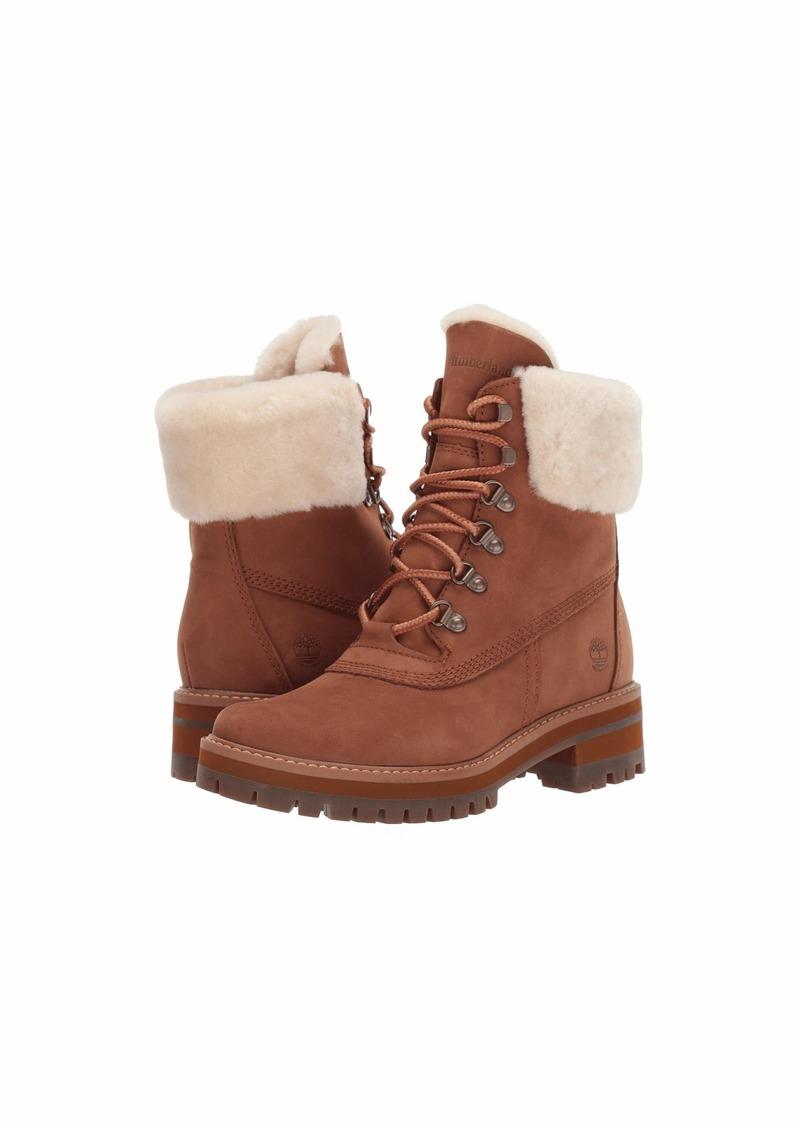 "Timberland 6"" Courmayeur Valley Shearling Waterproof Boot"