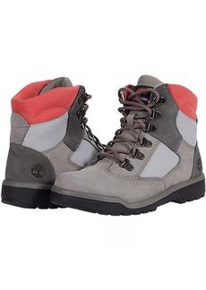 "Timberland 6"" Leather/Fabric Field Boot (Big Kid)"