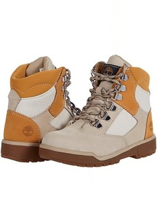 """Timberland 6"""" Leather/Fabric Field Boot (Little Kid)"""