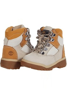 """Timberland 6"""" Leather/Fabric Field Boot (Toddler/Little Kid)"""