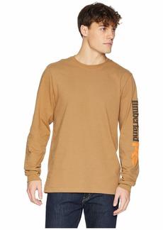 Timberland Base Plate Blended Long Sleeve T-Shirt w/ Logo