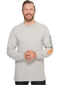 Timberland Base Plate Blended Long Sleeve T-Shirt with Logo