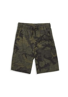Timberland Boy's Camouflage-Print Drawstring Shorts