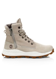 Timberland Brooklyn Side Zip Leather Boots