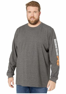 Timberland Extended Base Plate Blended Long Sleeve T-Shirt with Logo