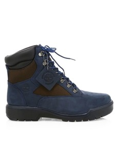 Timberland Field Waterproof Leather & Suede Boots