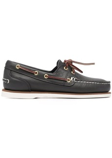 Timberland lace-up leather boat shoes