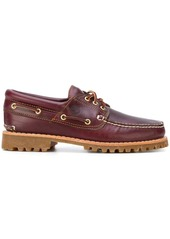 Timberland logo stamp boat shoes