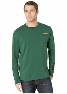 Timberland Long Sleeve Nature Needs Heroes™ Statement Print Relaxed Tee