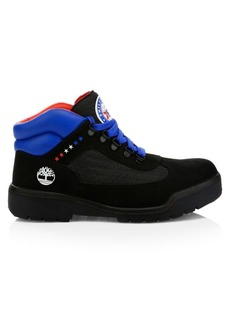 Timberland NBA Collection Philadelphia 76ers Lace-Up Leather Boots