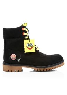 Timberland Premium Spongebob Suede Boots