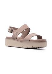 Timberland slingback flatform sandals