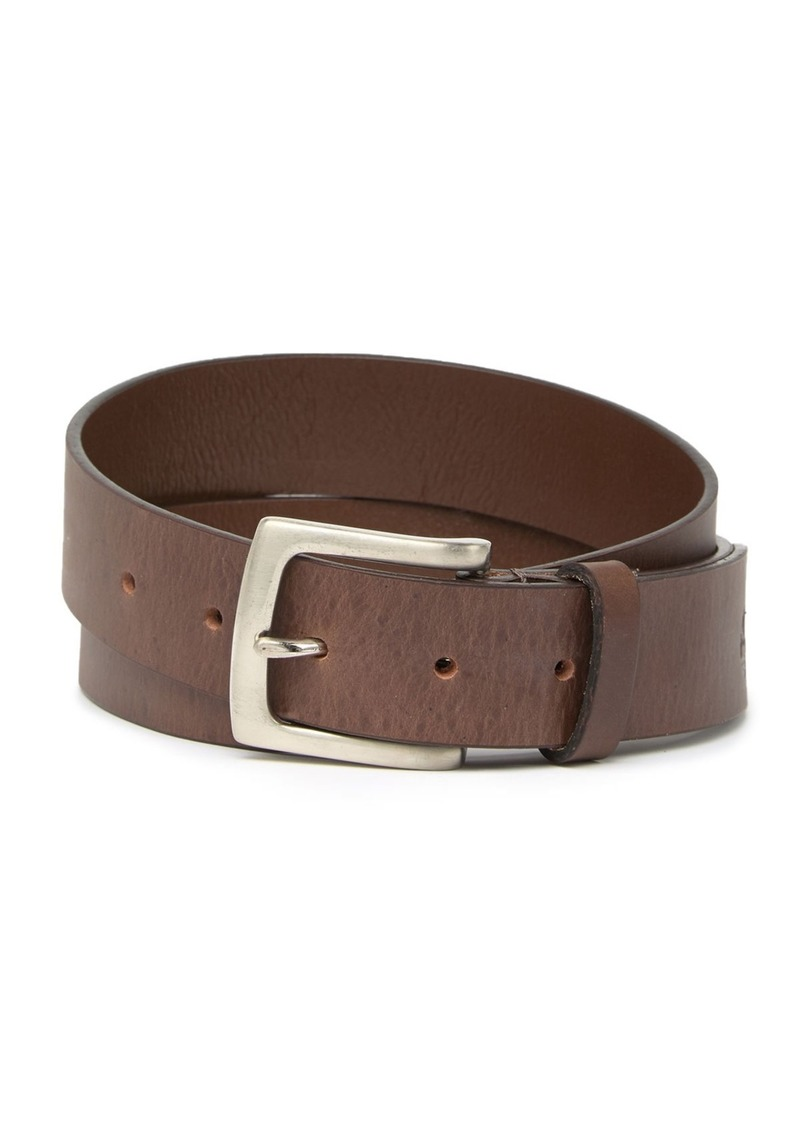 Timberland mens 42mm Double Prong Leather Belt Belt