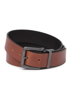 Timberland Square Buckle Volcano Reversible Leather Belt