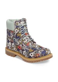 Timberland 6 Inch Premium Floral Print Boot (Women)