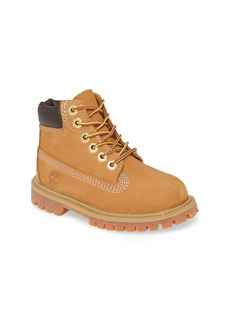 Timberland 6-Inch Premium Waterproof Boot (Walker & Toddler)