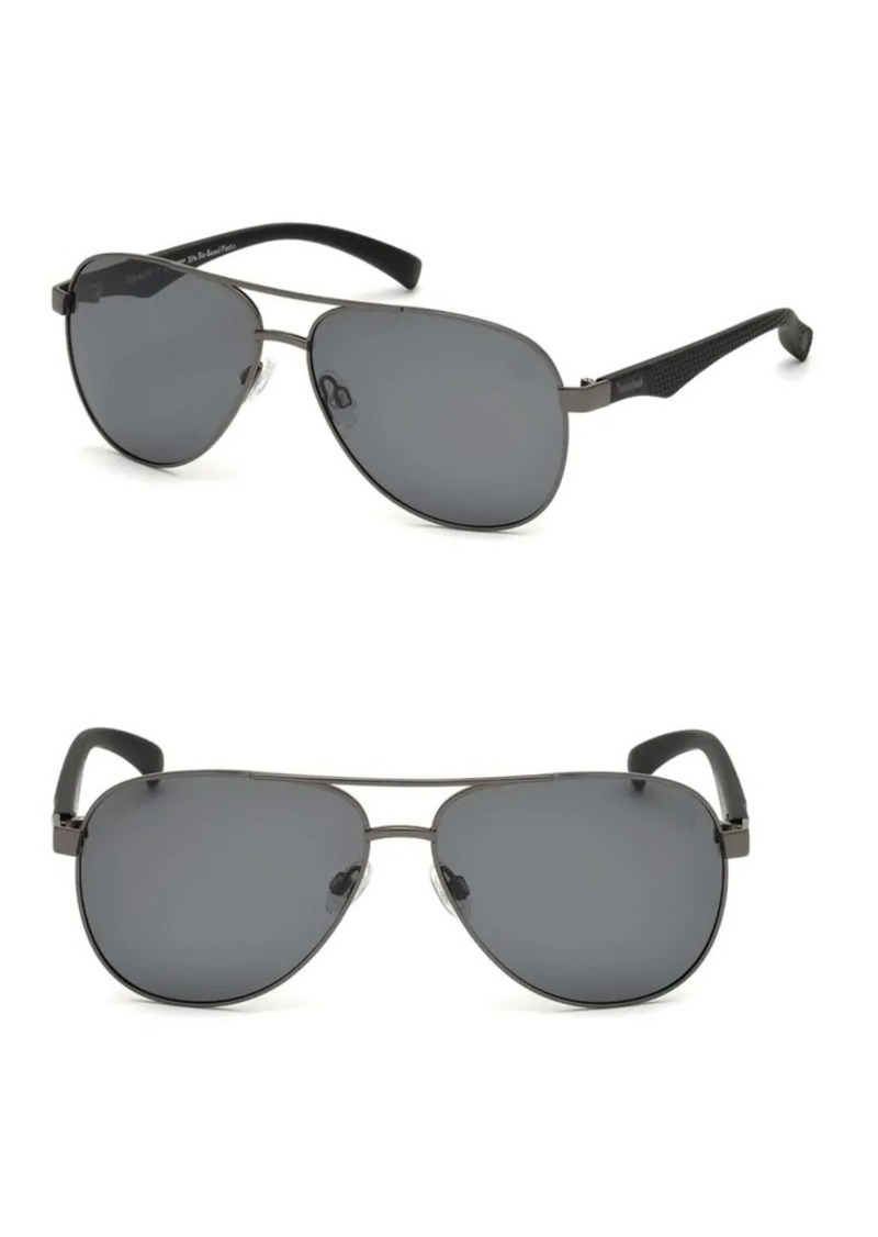 744da7819b7c7 Timberland Timberland 60MM Aviator Sunglasses