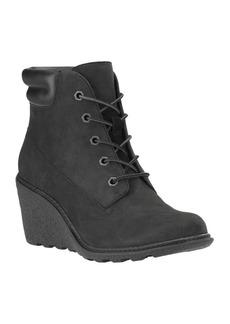 Timberland Amston Leather Wedge Heel Boots