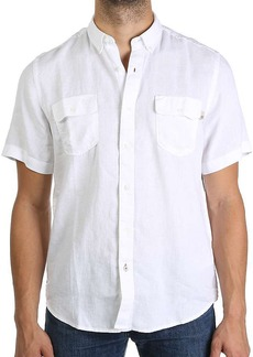 Timberland Apparel Timberland Men's Warner River Linen SS Shirt