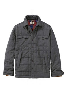 Timberland Apparel Timberland Men's Mill Brook Quilted Overshirt